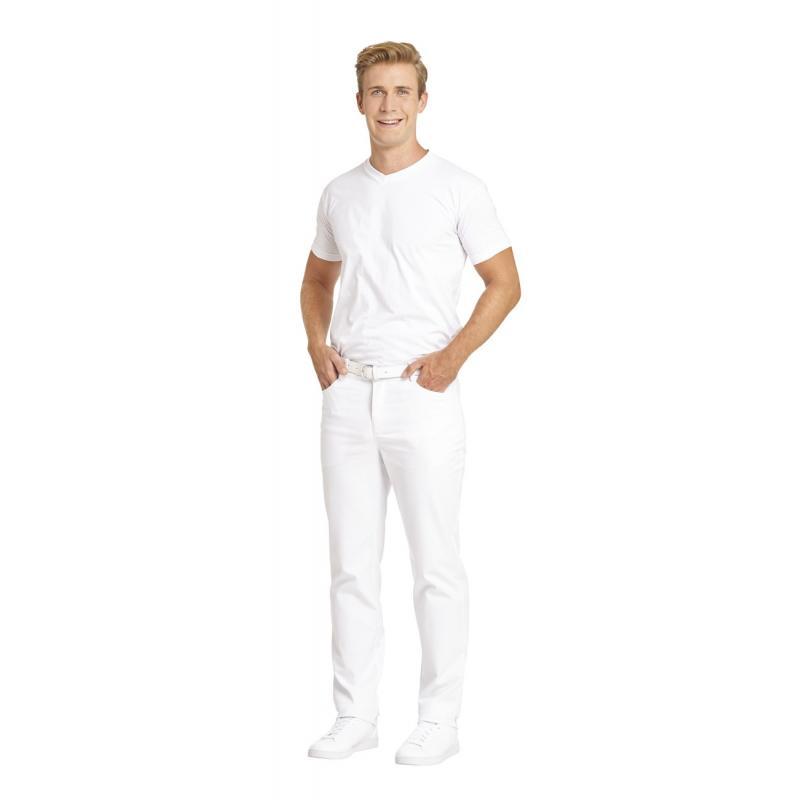 Heute im Angebot: Herren-Jeans 7060 von LEIBER / Farbe: weiß / 97 % Baumwolle 3 % Elastolefin in der Region Berlin Heiligensee