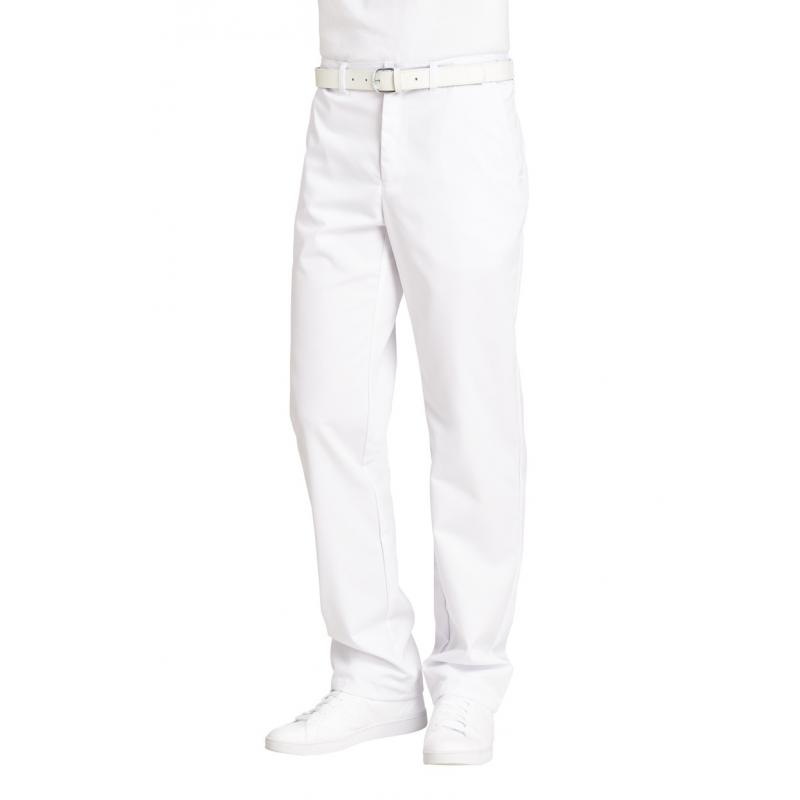 Heute im Angebot: Herrenhose 2120 von LEIBER / Farbe: weiß / 65 % Polyester 35 % Baumwolle