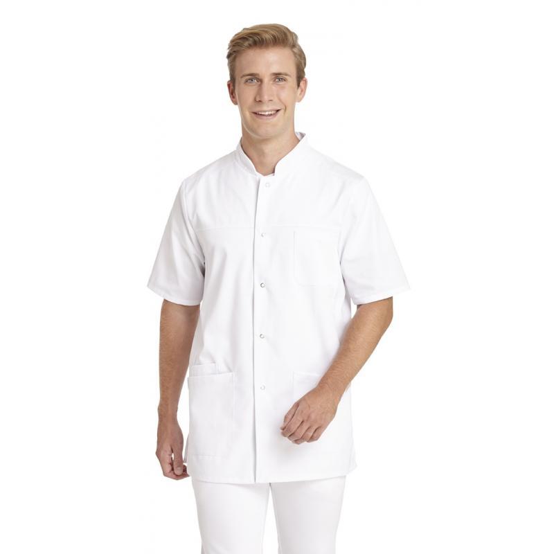 Heute im Angebot: Herren - Kasack 9940 von LEIBER / Farbe: weiß / 65 % Polyester 35 % Baumwolle in der Region Berlin Tempelhof