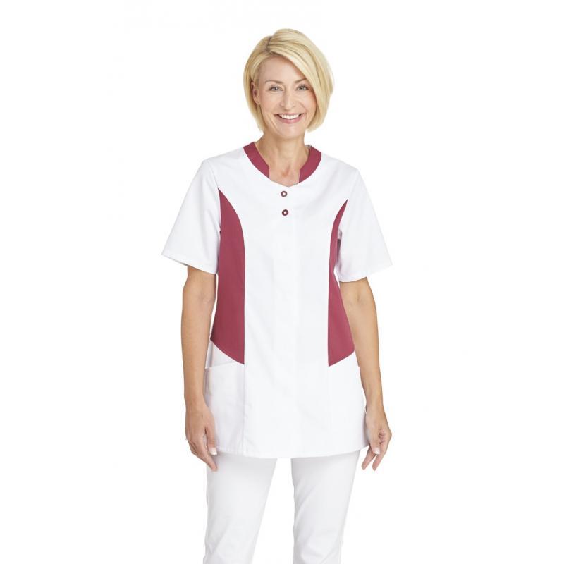 Heute im Angebot: Hosenkasack 25070 von LEIBER / Farbe: weiß-beere / 50 % Polyester 50 % Baumwolle jetzt günstig kaufen